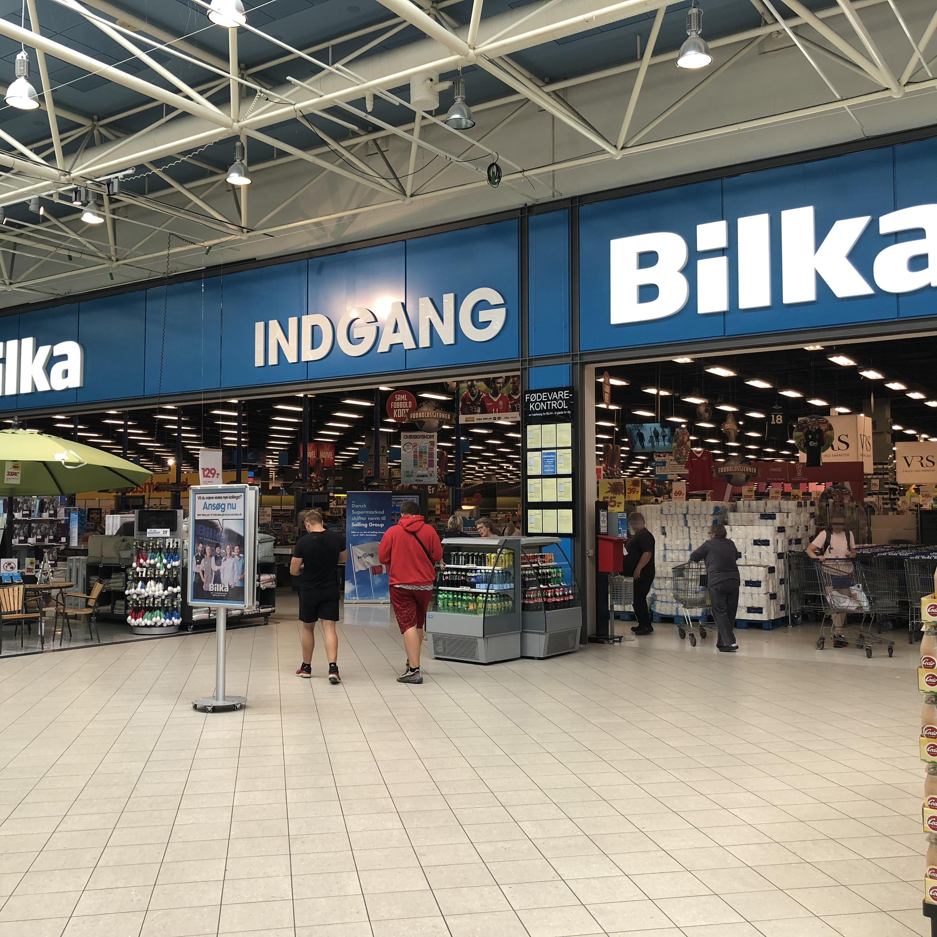 Facade Bilka Hypermarked
