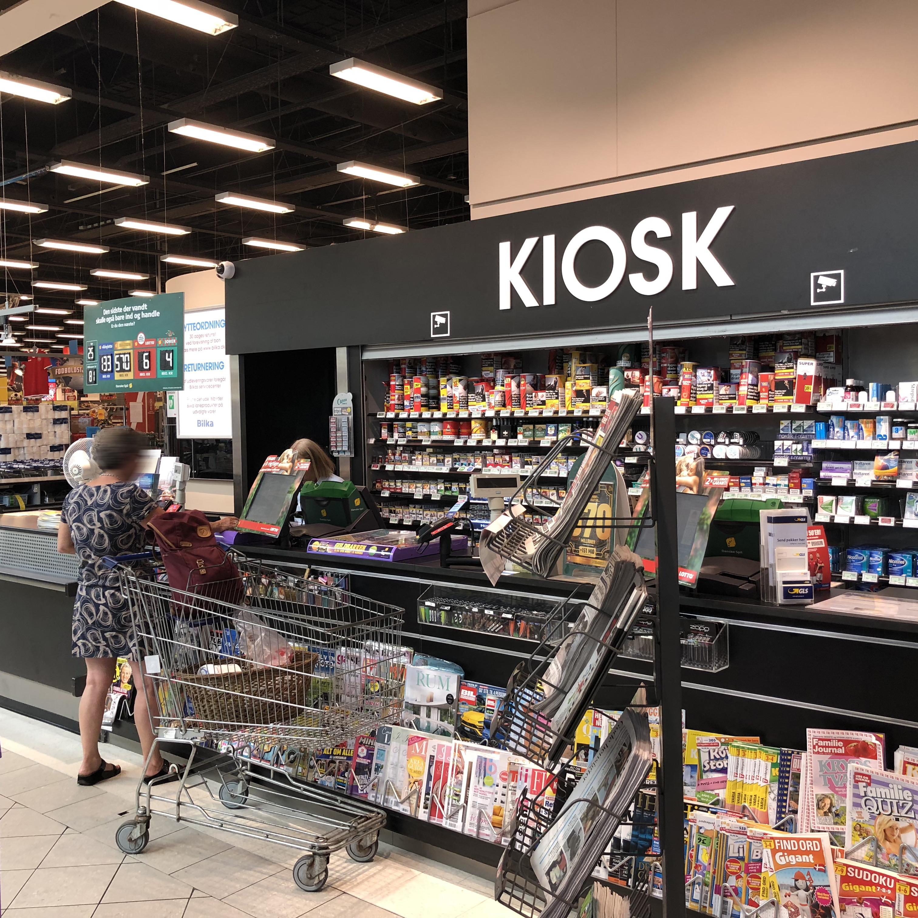 Facade Kundeservice Og Kiosk