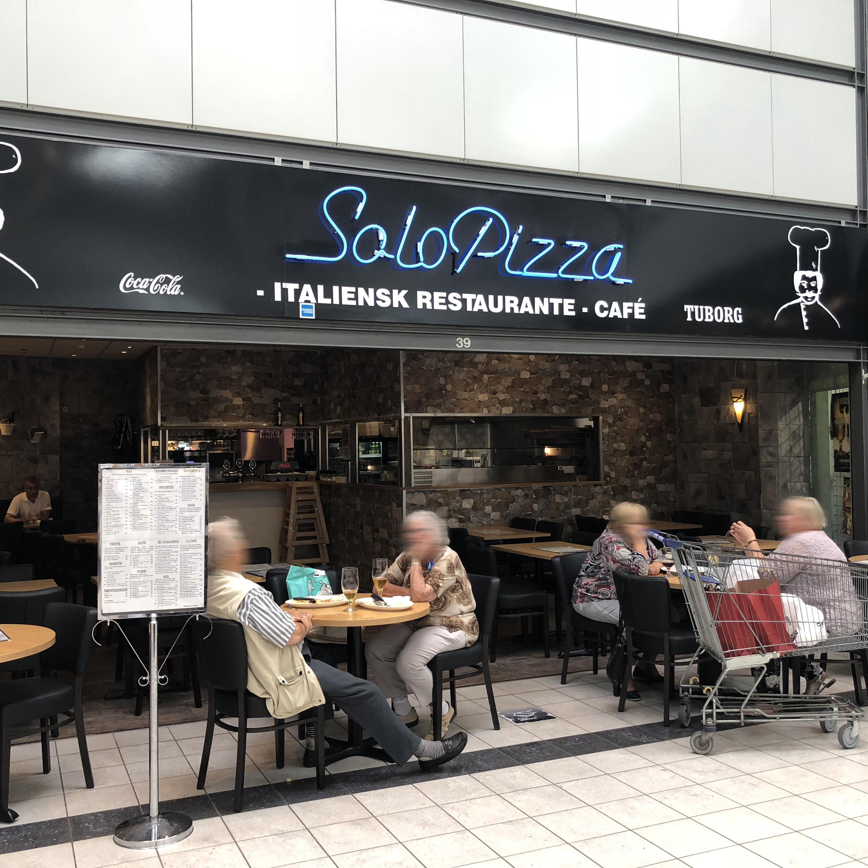 Facade Solo Pizza