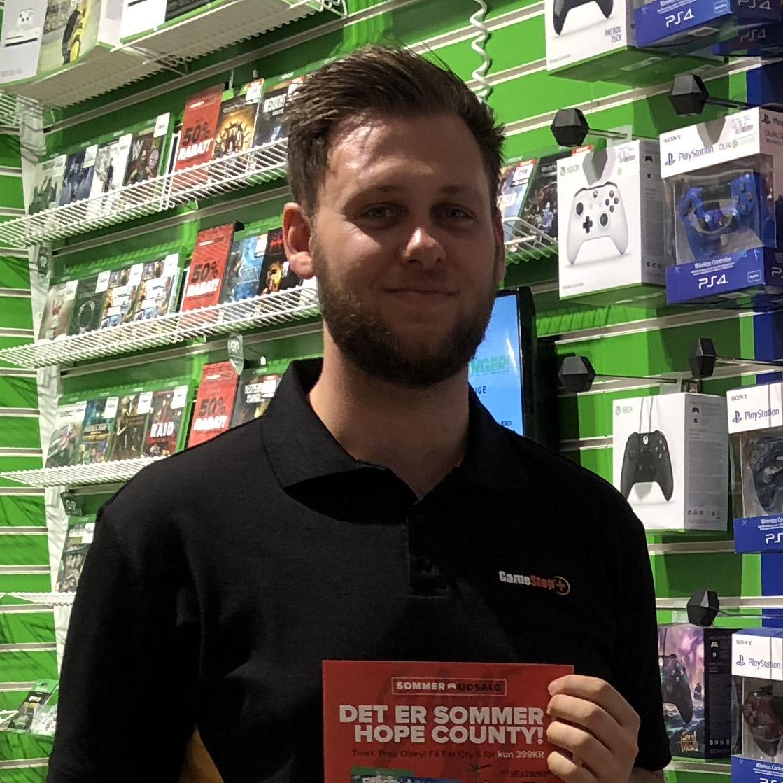 GameStop Butikschef