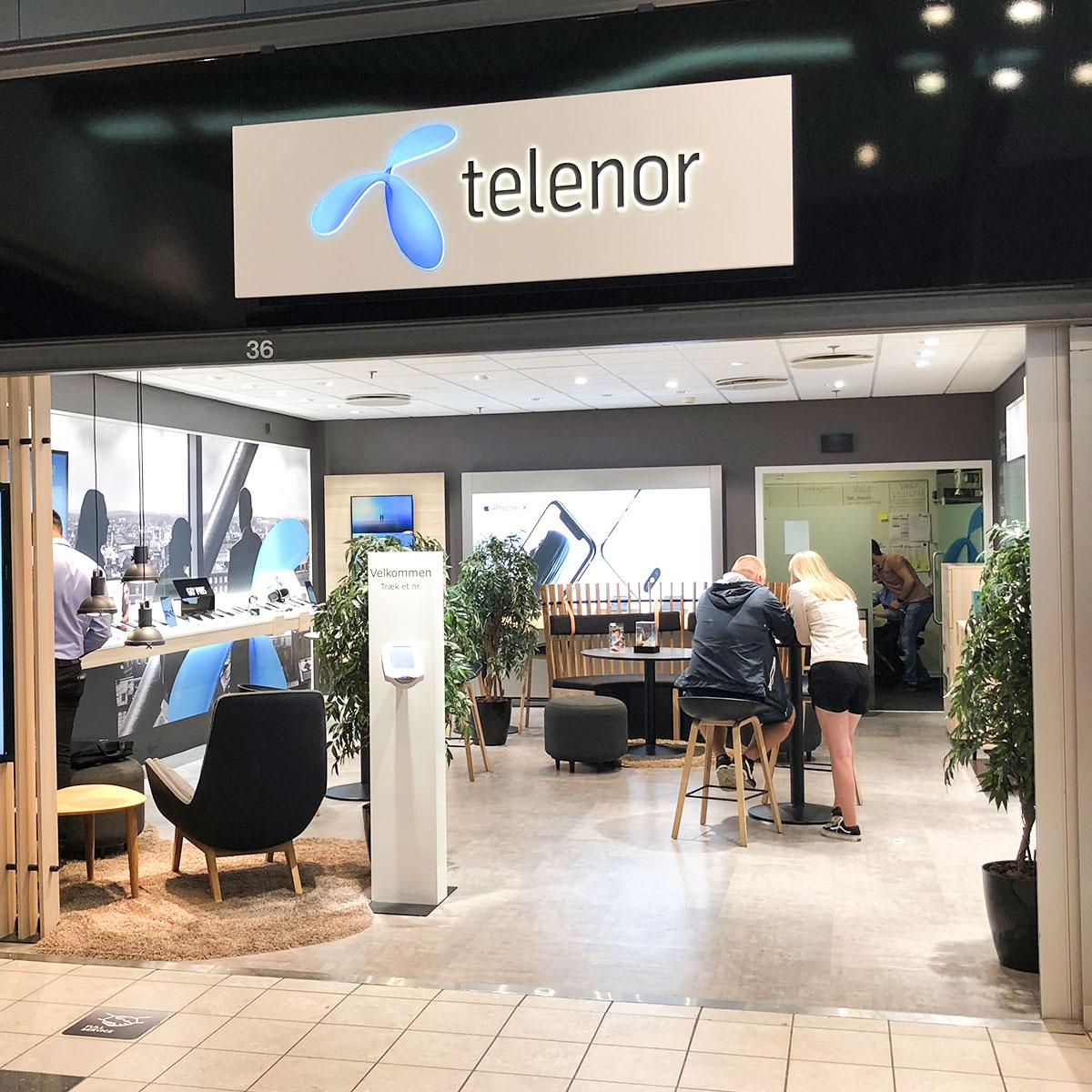 Telenor Facade